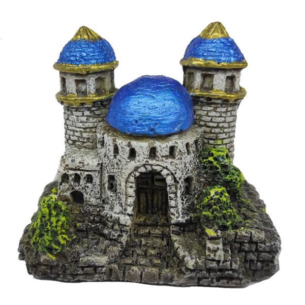 Декорация керамический Замок Wave